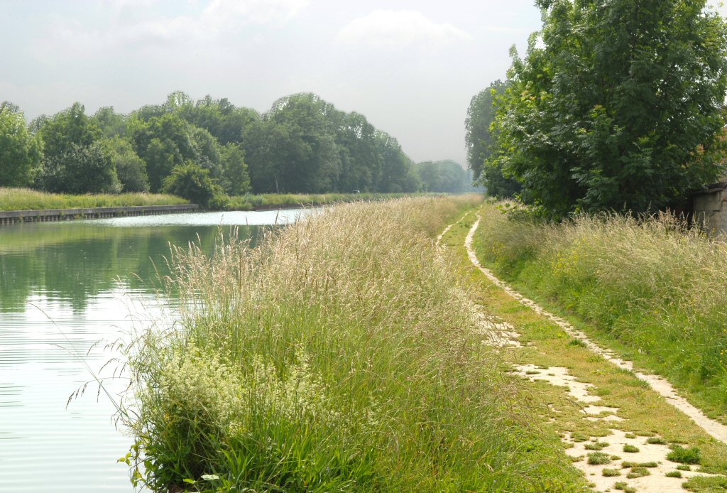 Towpath after Reims