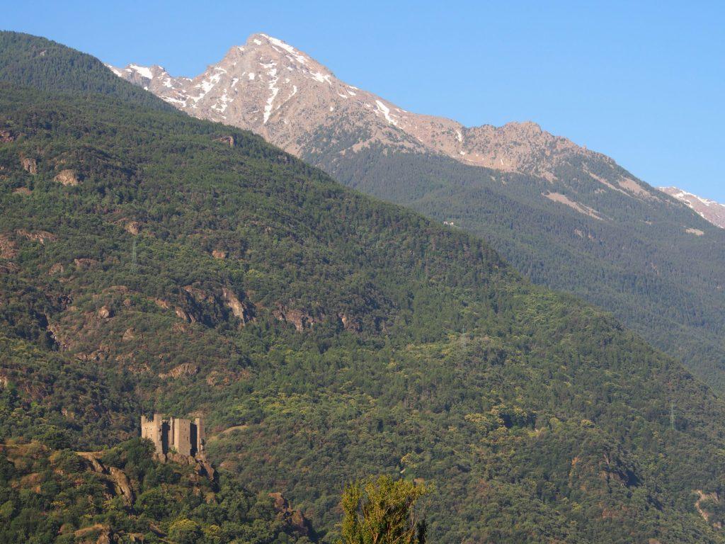 Ussel Castle, Aosta Valley