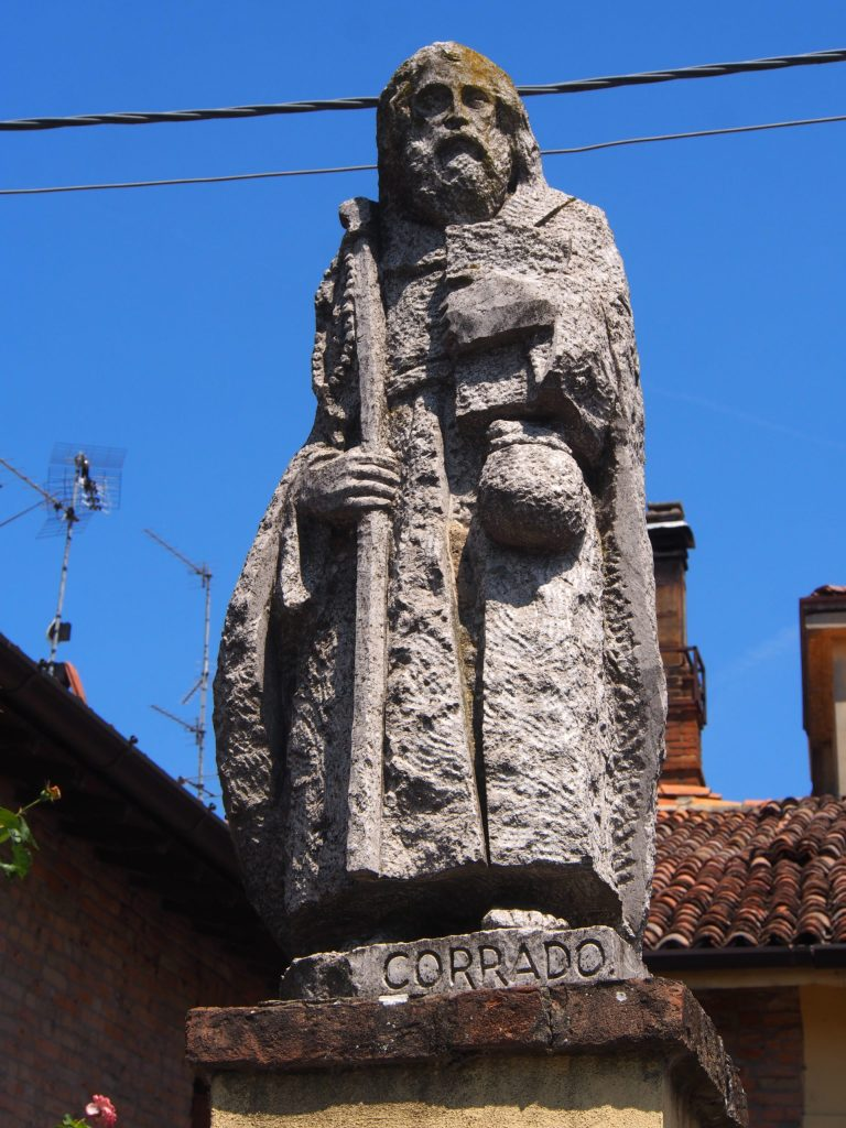 Pilgrim in Calendasco