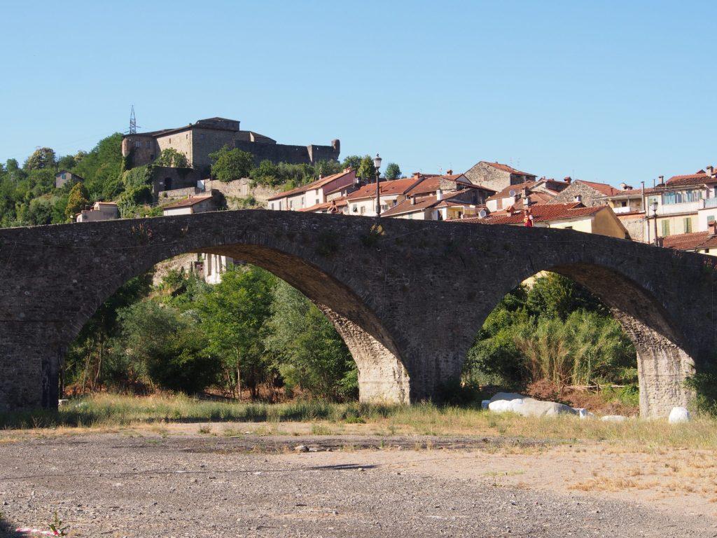 Pontremoli, old bridge