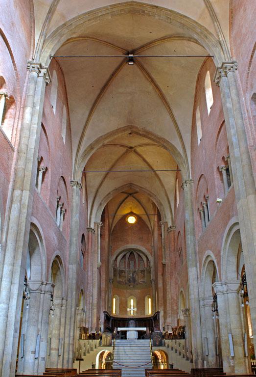 Fidenza Cathedral Interior