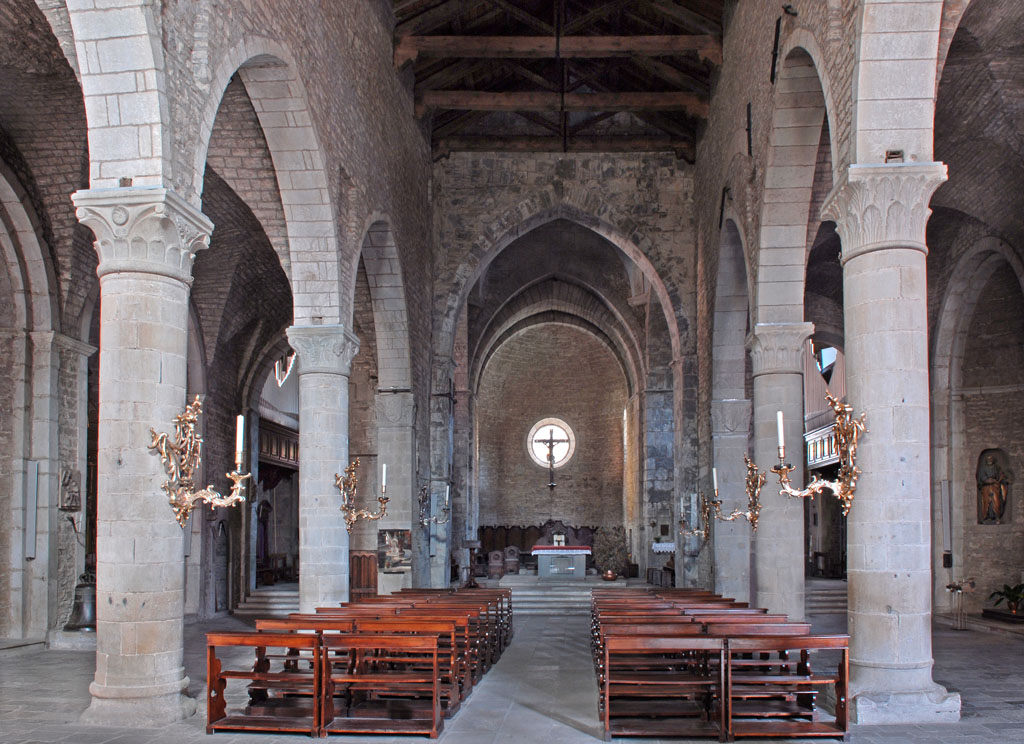 Berceto Cathedral Interior