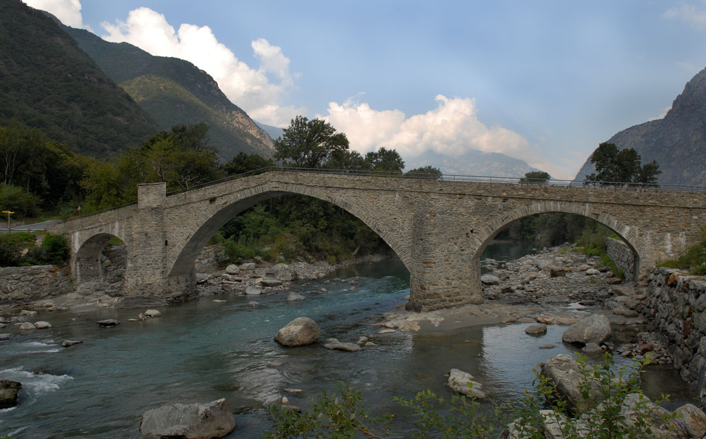 Roman Bridge at Echallod