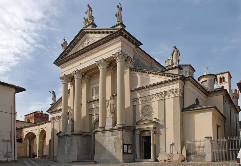 Ivrea Cathedral Facade