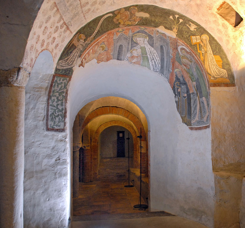 Crypt of Ivrea Cathedral