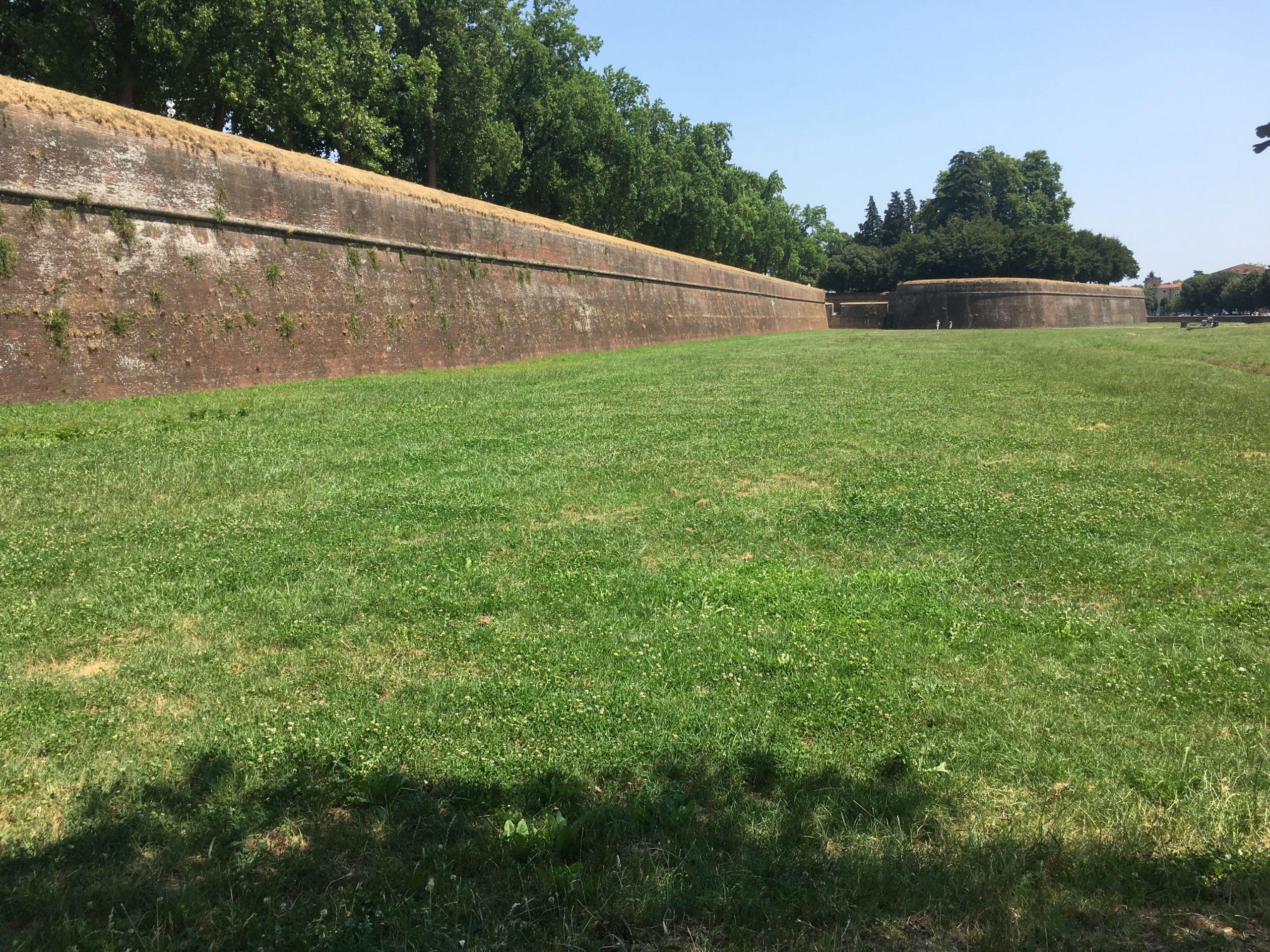 Lucca city walls