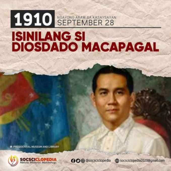 picture of president diosdado macapagal