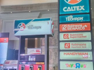 Robinson Rewards Card accepted at Caltex
