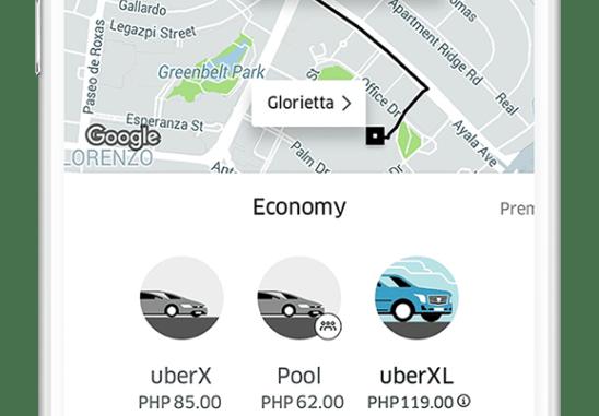 uberXL 6 seaters