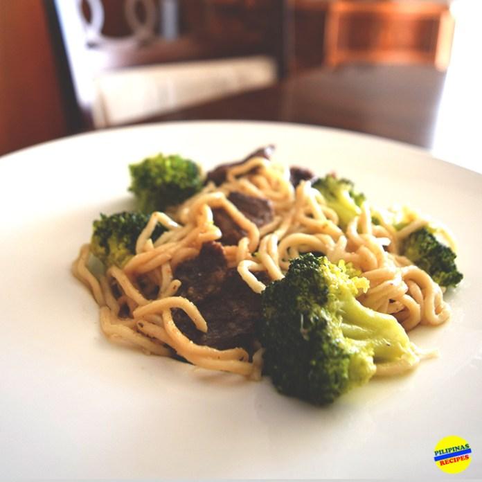 Lo Mein Beef Broccoli