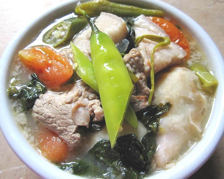 Pork Sinigang with Gabi Recipe