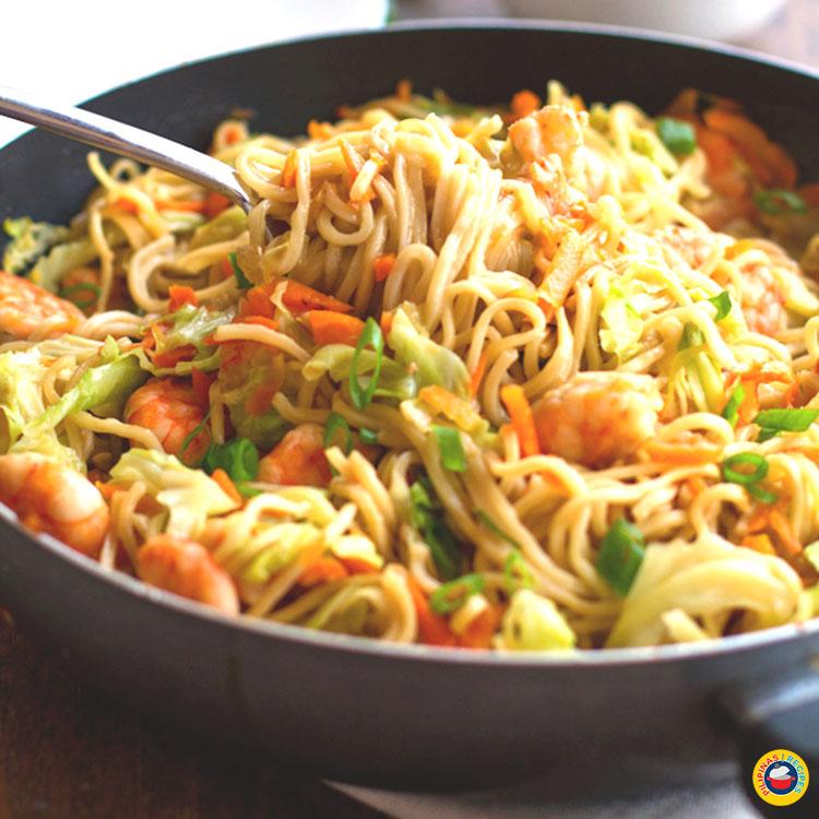 Filipino Pancit Canton Recipe Pilipinas Recipes