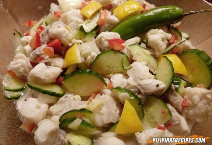 Filipino Fish Ceviche
