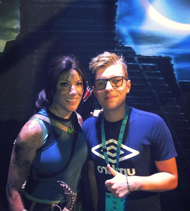 Jenn Croft (à gauche) et moi (à droite) !