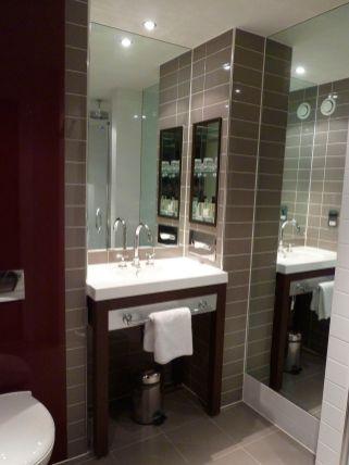 Small (no bath) bathroom
