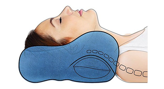memory foam pillow with cooling gel