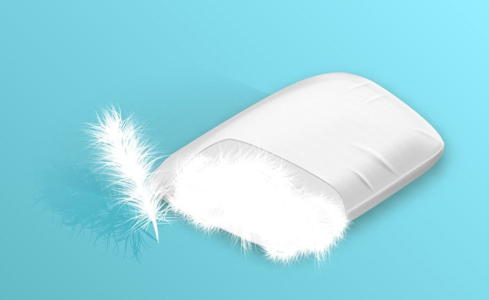 best pillow material ideal stuffing