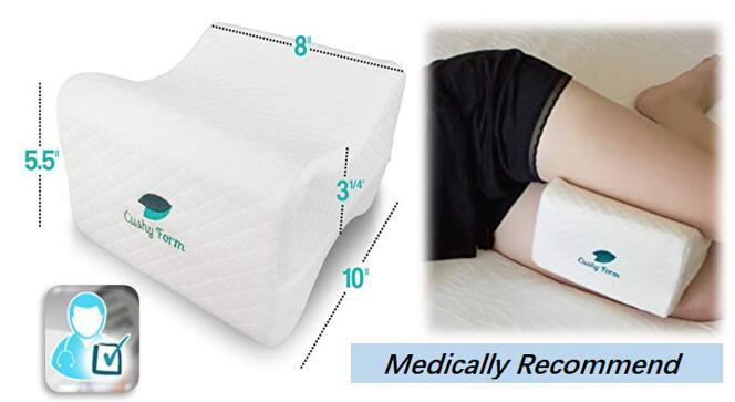 cushy foam knee pillow online