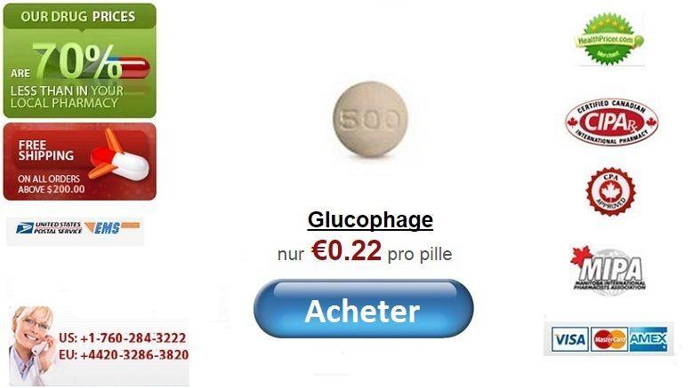 Acheter glucophage en ligne sans ordonnance