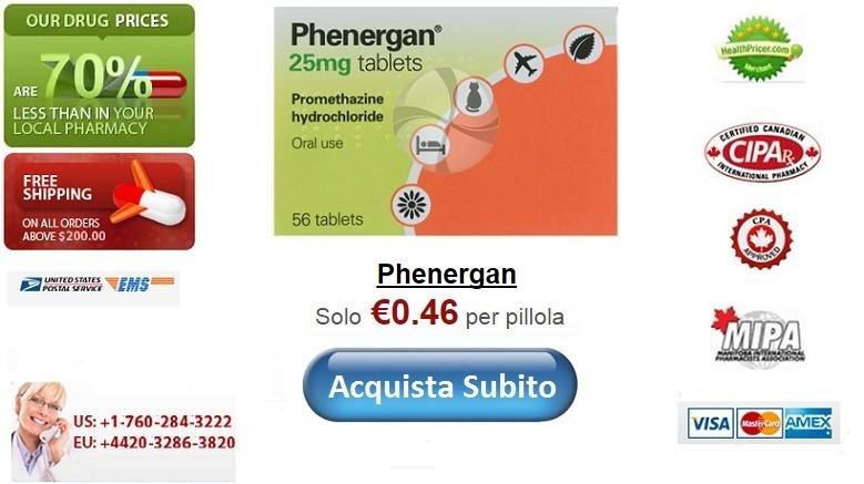Acquistare Phenergan senza ricetta online