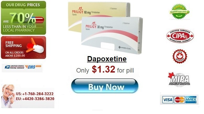 Buy Dapoxetine online without prescription