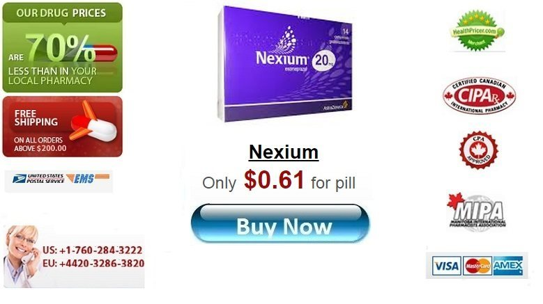 Buy Nexium online without prescription