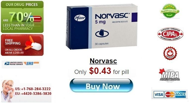 Buy Norvasc online without prescription