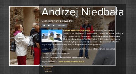 Andrzej Niedbała PRZEWODNIK ŚWIĘTOKRZYSKI PILOT WYCIECZEK