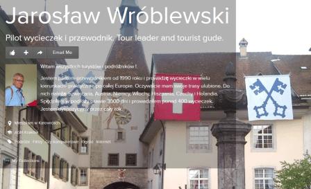 Jarosław Wróblewski PILOT WYCIECZEK
