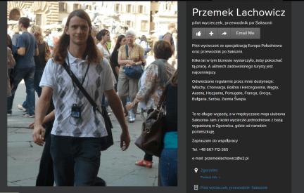 Przemek Lachowicz PILOT WYCIECZEK