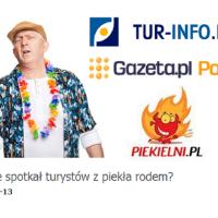 Turyści z piekła rodem. Wspomnienia pilotów wycieczek / Piekielni.pl Tur-Info.pl Gazeta.pl