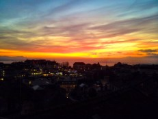 Lausanne sunset