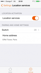 Pilot: location services correctly setup