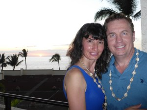 Todd and Oana in Maui