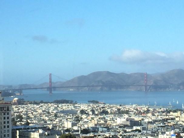 Crown Room View of the Golden Gate Bridge