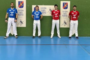 Uribe Merino primer punto campeonato parejas garfe