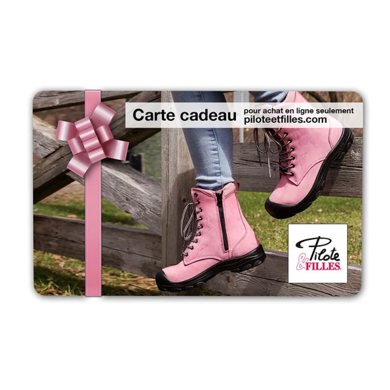 Carte Cadeau Pilote & Filles - V9