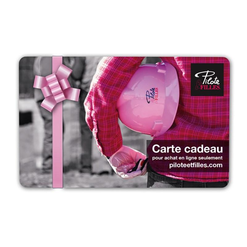 Carte Cadeau Pilote & Filles - V12