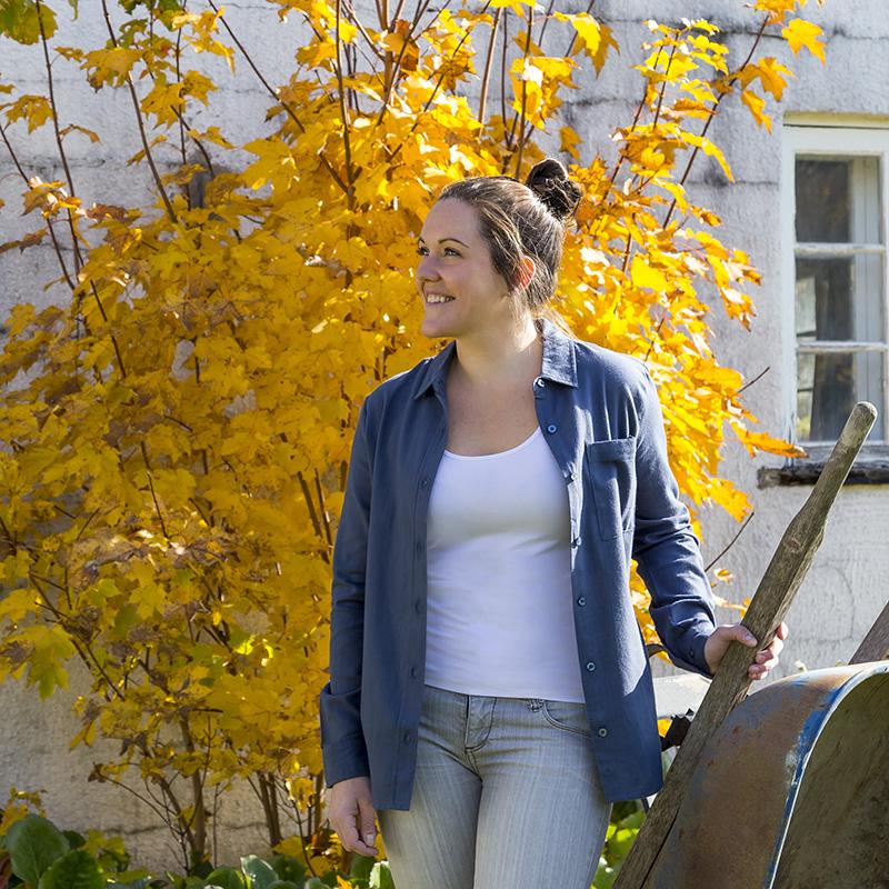 Chemise en flanelle légère pour femme | Pilote et Filles