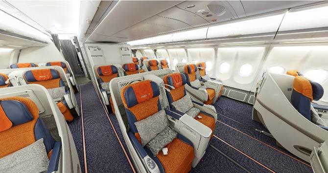 Аэрофлот А330-300 бизнес класс