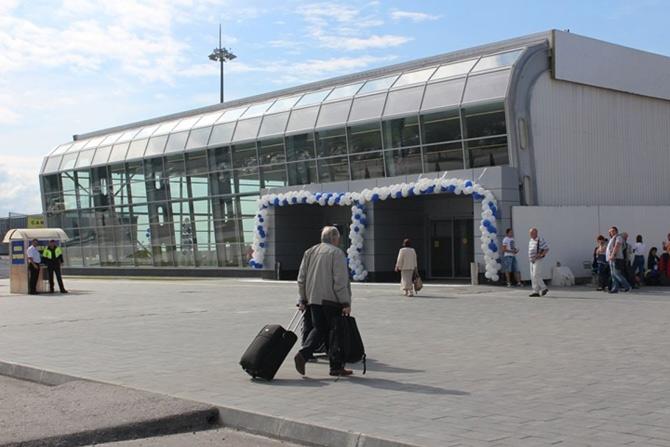 Новый терминал Храброво