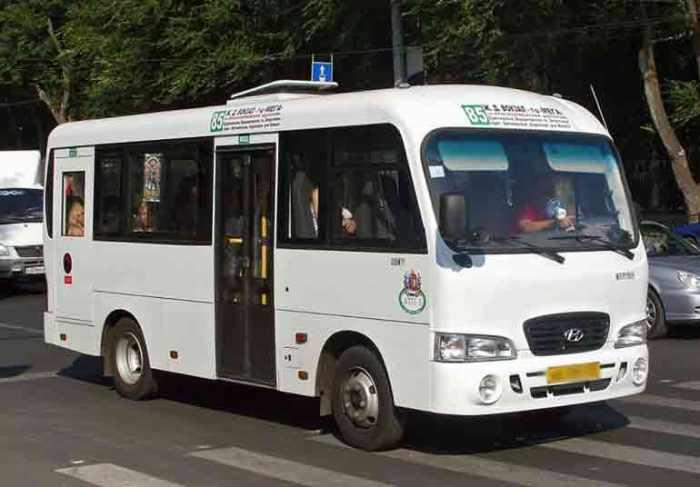 Общественный транспорт автобус