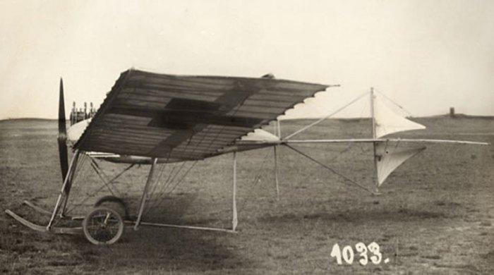 Первый самолет Фоккера Спин