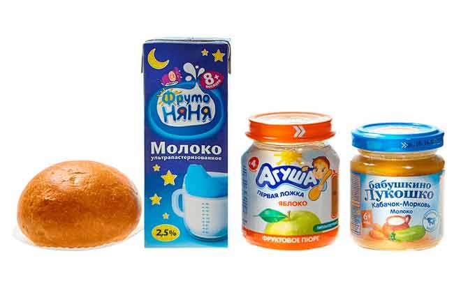 питание для младенцев S7