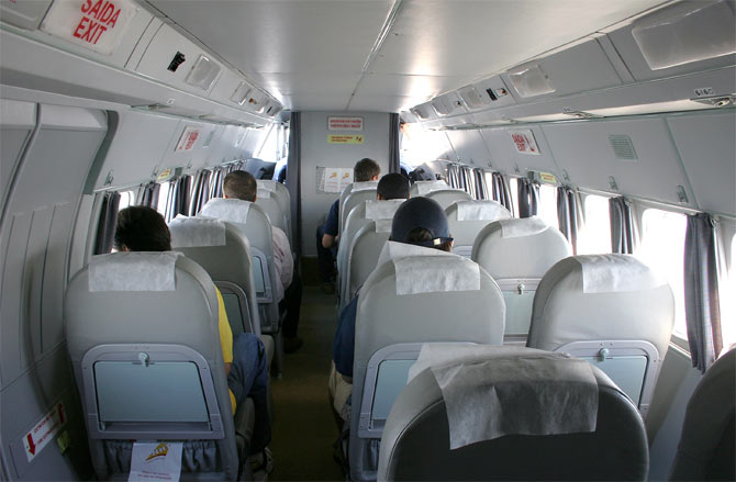 Самолет L 410 салон