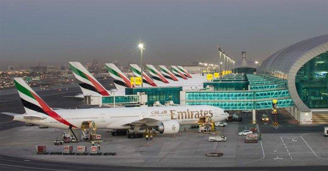 Терминал 3 аэропорт Дубай