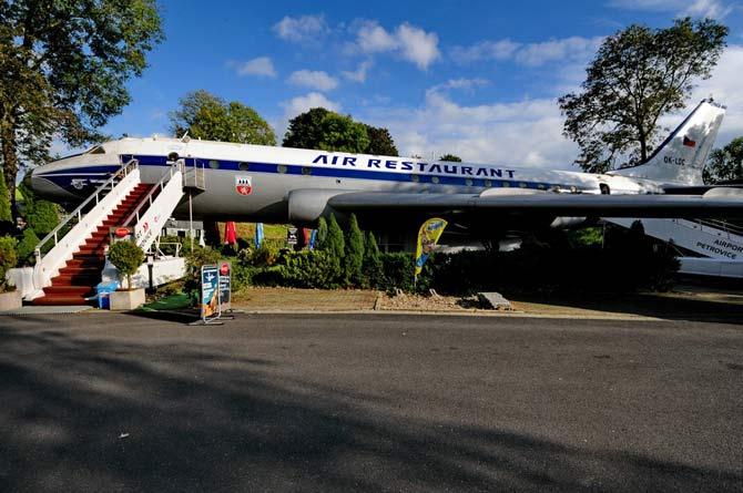 Самолет Ту 134 ресторан