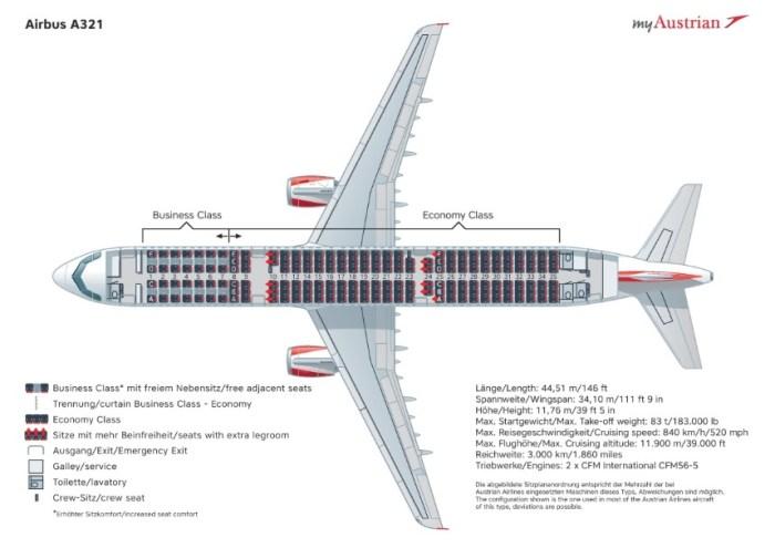 Аэробус a321-211 схема салона