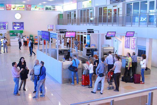 Аэропорт Астрахань фото