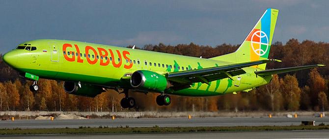 Авиакомпания Глобус фото